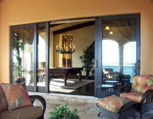 High Impact Sliding Glass Door with Side Lights ... & Home Shields USA - Impact Windows and Doors
